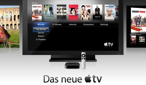 AppleTV - Stream oder Sync?